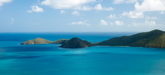 Seascape of Tortola, BVI