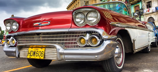 Old Red Chevrolet, Cuba