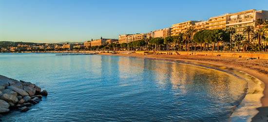 The Bay of Cannes, South of France