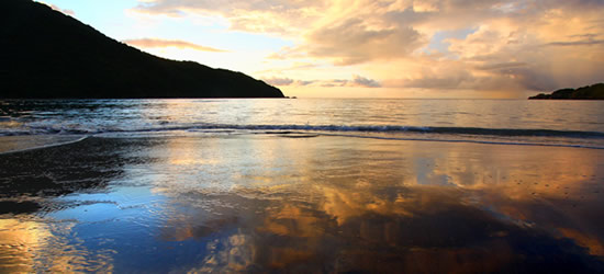 Sunset over Brewer's Bay, BVI