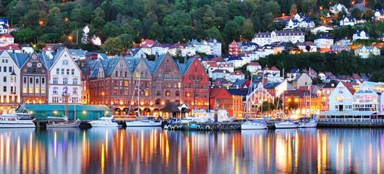 Water Colours of Bergen