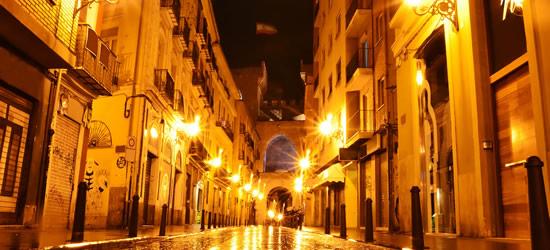 Valencia at Night