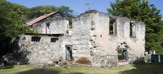 Sugar Mill from the 1700's, Bequia