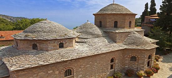 Panagia Evanelistria Monastery, Skiathos
