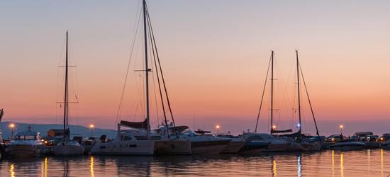 Sunset at Baska Voda