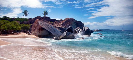 The Bath's, British Virgin Islands