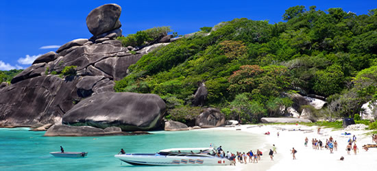 Similian Islands, Thailand