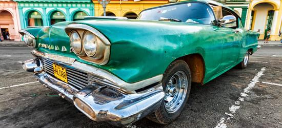 Vintage Cadillac, Cuba