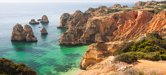 The spectacular Coast of the Algarve