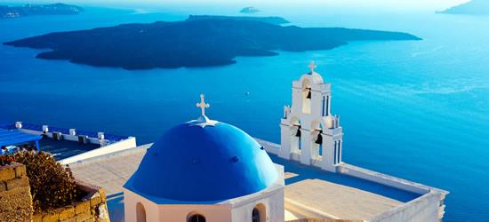 Aegean Blue of Santorini