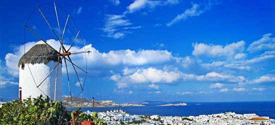 Mykonos, the Cyclades Greek Islands