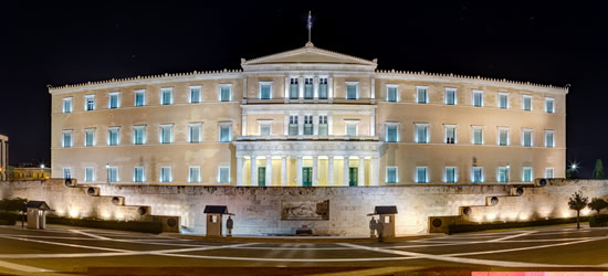 The Greek Parliment Building